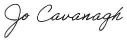 Jo Cavanagh OAM Logo